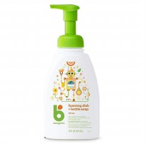 Babyganics Foaming Dish and Bottle Soap Citrus 473ml