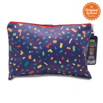 Asian Games 2018 Pouch Confetti Pattern