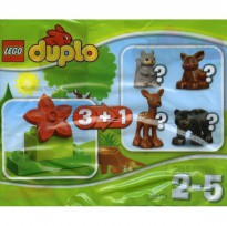 Lego Duplo 30217 Forest Animal Polybag. Isi rusa