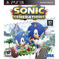 Bd/ Kaset Game Ps3 Sonic Generations