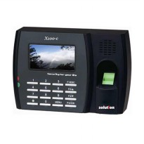 SOLUTION X100C FINGERPRINT / MESIN ABSENSI SIDIK JARI / Mesin Absensi Fingerprint / X100-C