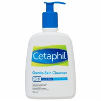 Cetaphil Gentle Skin Cleanser Face and Body For All Skin Type 500ML (500 ML)