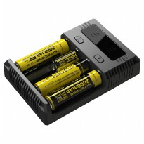 Nitecore Intellicharger Universal Battery Charger 4 Slot for Li-ion and NiMH - New i4