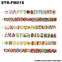 Sticker Ultah Happy Birthday