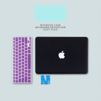 Case Macbook Air Matte + Keyboard Protector + Dust Plug
