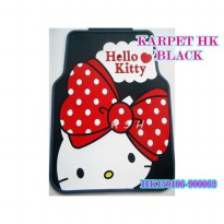 KARPET MOBIL HELLO KITTY BLACK PITA