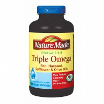 Nature Made Triple Omega 369 - 180 Softgels