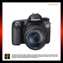 Canon EOS 70D Kit 18-135mm f/3.5-5.6 IS STM WiFi - Black