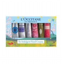 2 stores L'Occitane hand cream genuine New Happy Hands Kit 6 kinds / Free gift wrapping department