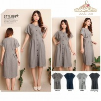 New Arrival Wella Dress - Navy