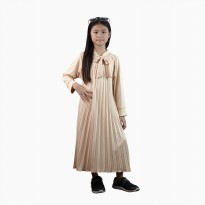 Long Dress flisket anak perempuan model terbaru - Jfashion Salimah