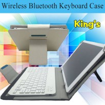 [globalbuy] Removable Detachable Wireless Bluetooth Keyboard Case Cover For Samsung Galaxy/3045437