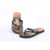 HDF Men sandal | ANCIENT THONG [BROWN/ORANGE]
