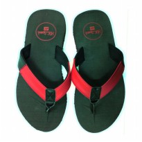 HDF sandal | DECADE [BLACK/RED]