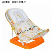 Mastela Deluxe baby bather Orange