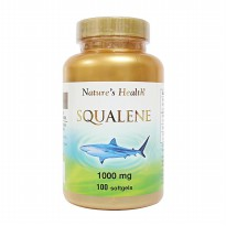 Nature's Health Squalene 1000 mg - 100 softgels