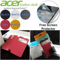 Leather Shell View Case Acer Liquid Z4