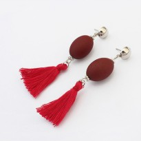 Anting Seed Tassel 3 Warna