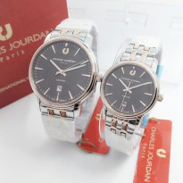 Jam Tangan Couple Charles Jourdan B8151 (Originak) | Jam Tangan Couple / Rantai / Rubber