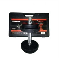 Kettler Dumbell Rubberized Set 10Kg 0850 / Dumbel Rubber Set 10kg / Barbel set 10kg