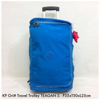 TAS Fashion ORIGINAL TRAVEL TROLLEY TEAGEAN S - Blue