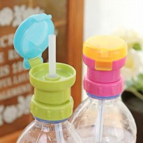 Bottle Straw Cover Tutup Botol Serbaguna