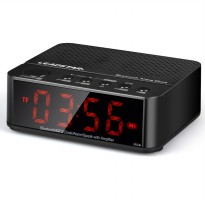 [esiafone super sale] ESIATEC Universal Desktop Bluetooth Speaker Alarm Clock With LED KD-66