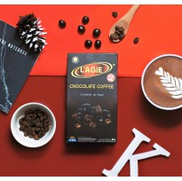 Lagie Coklat Isi Kopi Chocolate Coffee Less Sugar 60gr