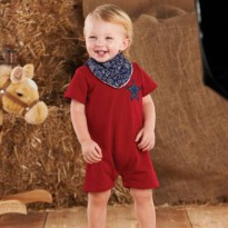 Mudpie Sheriff One-Piece With Bib #1032110