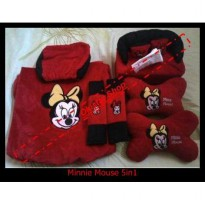 Bantal Mobil minnie Mouse 5in1