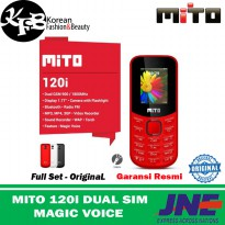 HP MURAH MITO 120i DUAL SIM MAGIC VOICE GARANSI - ORIGINAL