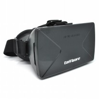 Taffware Cardboard VR Box Head Mount Plastic Version 3D Virtual Reality for Smartphone