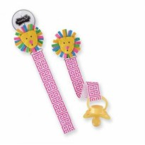 Mudpie Pink Lion Pacy Clip #2112130