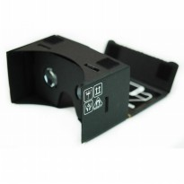 VR Hero Total Black Cardboard Virtual Reality for Smartphone
