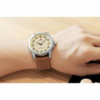 Jam Tangan Pria Naviforce Nf-9124 Silver Brown Original