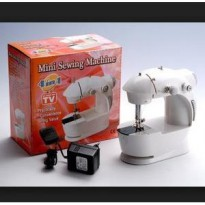 Mesin jahit 4 in 1 sewing machine Mini tailor penjahit rumah tangga OK
