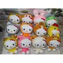 Boneka rekam karakter Hello Kitty zodiac shio doll recorded valentine
