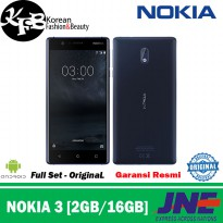HP NOKIA 3 ANDROID 2GB/16GB GARANSI - ORIGINAL