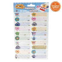 Superwings Signature Sticker SW-SS002