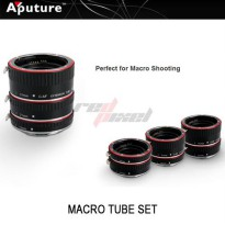 APUTURE MACRO EXTENSION TUBE FOR CANON