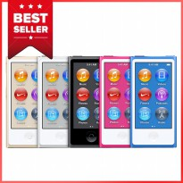Apple iPod Nano 7 - 16GB - Blue - Garansi Resmi Apple