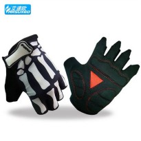 [globalbuy] ARSUXEO Summer Cycling Gloves Bike Half Finger Gloves Breathable Bicycling Mit/3809931