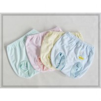 Celana pop bayi Fluffy salur - 4 pcs - CPP013