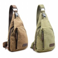 BODY-PACK Bag Tas Selempang Pria Bahan Jeans | Men Sling Shoulder Bags