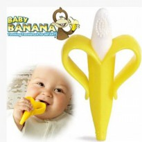 Baby Banana Toothbrush Sikat Gigi Flexible