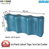 [Gold Product] Igloo Ice Pack Lekuk Tiga (Can Cooler) Made in Italy