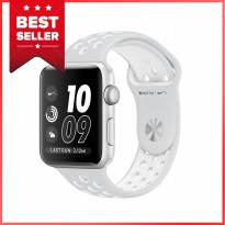 Apple Watch Nike+ 42mm Silver Aluminum Case with Pure Platinum Nike Sport Band Garansi Resmi Apple