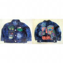 ~Cutevina~ Boy jeans jaket (GZ1048)