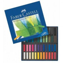 (Siap Kirim) faber castell soft pastel faber castell isi 48