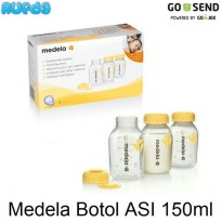 (Dijamin) Medela Breastmilk Bottle (Botol ASI) 150ml